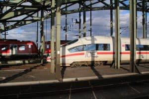 Met de trein naar dusseldorf