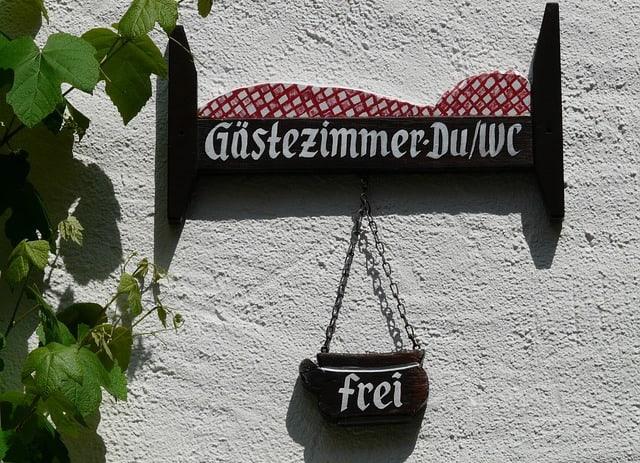 De meest voorkomende hotelnamen in Duitsland