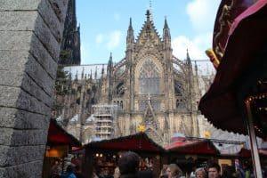 Kerstmarkt dom van Keulen