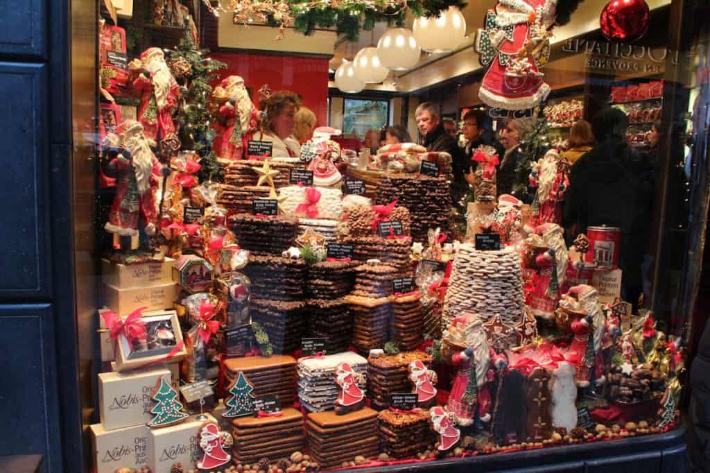 Kerstmarkten Aken