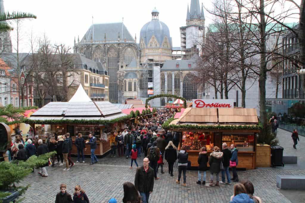 Kerstmarkten in Aachen