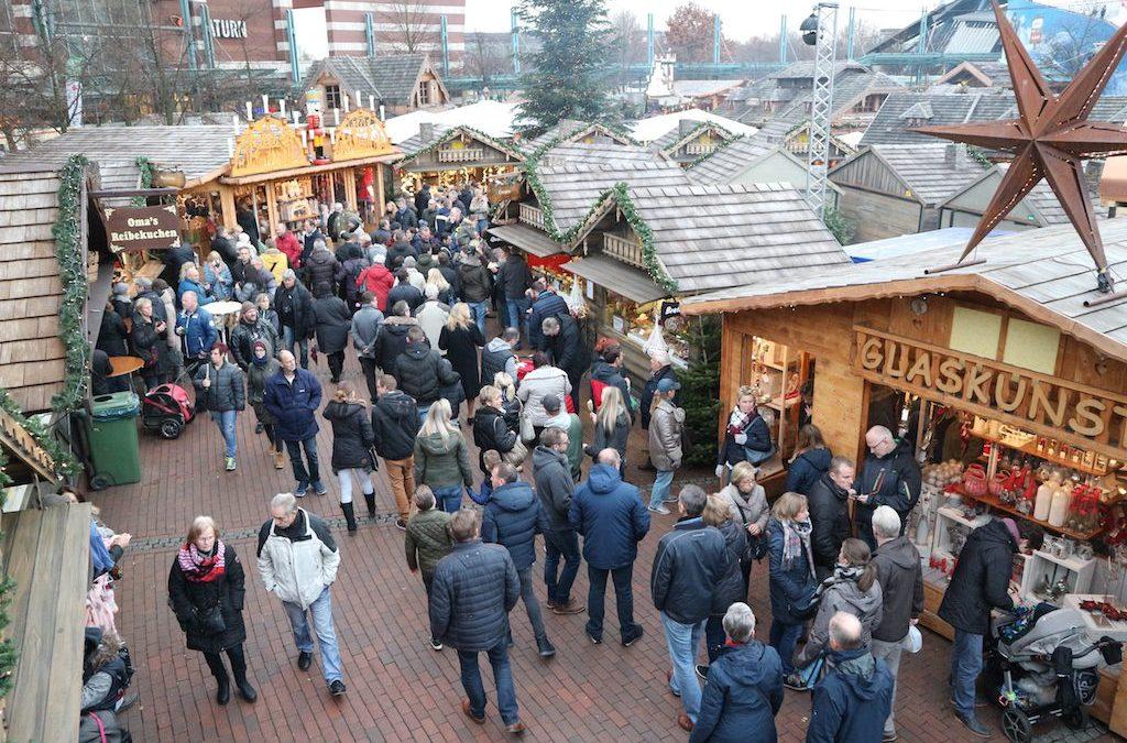 Een dagje kerstmarkten CentrO Oberhausen