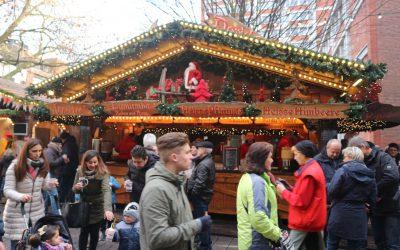Kerstmarkten in Münster
