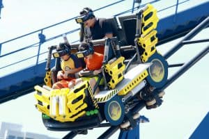 Legoland VR achtbaan