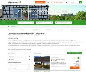 groepen.nl - groepsaccommodatie in Duitsland
