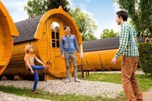 Legoland camping in Duitsland