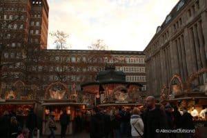 Kerstmarkt Heine platz Dusseldorf