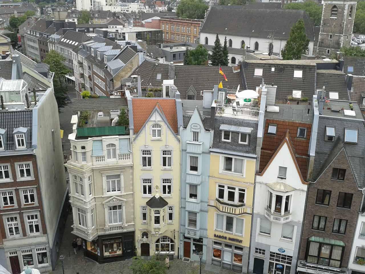 Aken of Aachen, een domstad in Duitsland