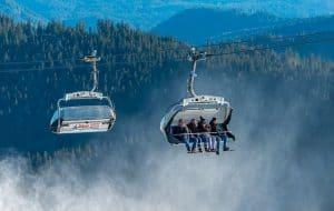 Wintersport in het Zwarte woud