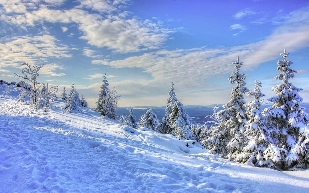 Winterwonderland Harz; kerst, sneeuw en wandeltochten