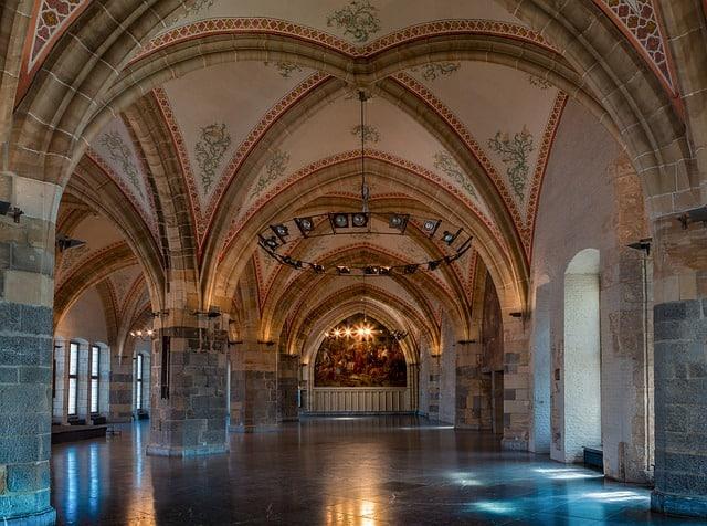 historische zaal rathaus aachen