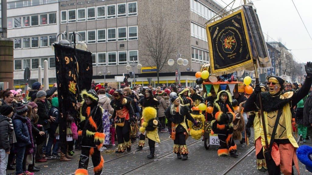 Carnaval in Dusseldorf