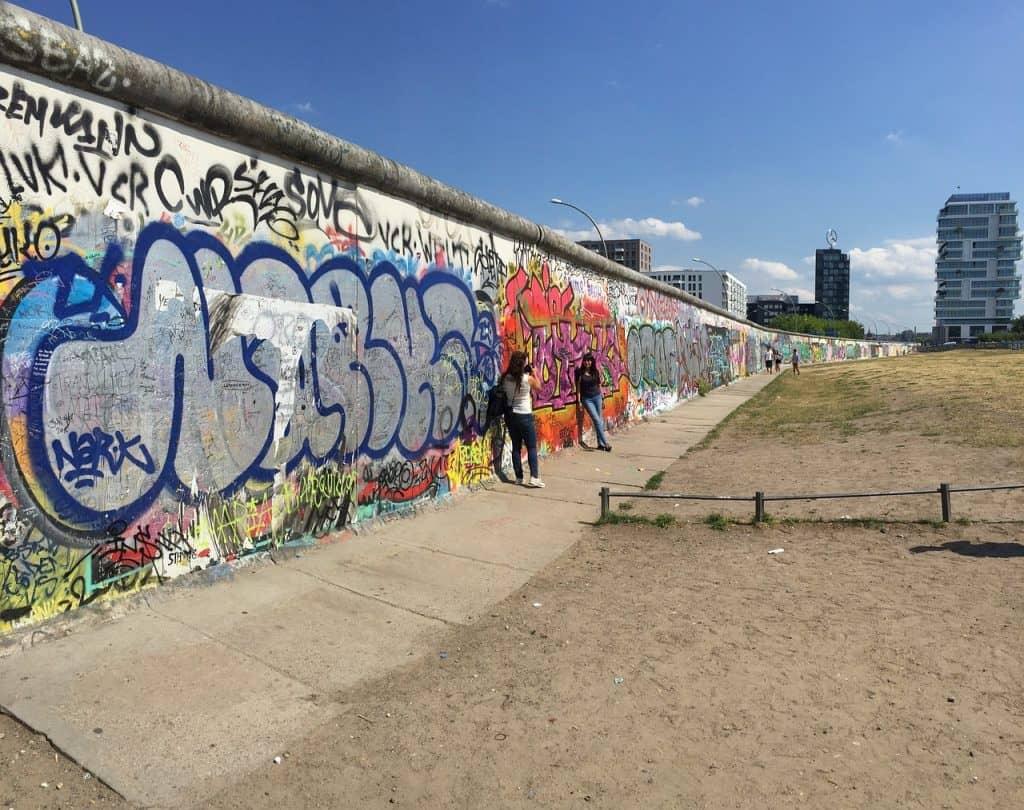 De Berlijnse muur bezienswaardigheden Duitsland