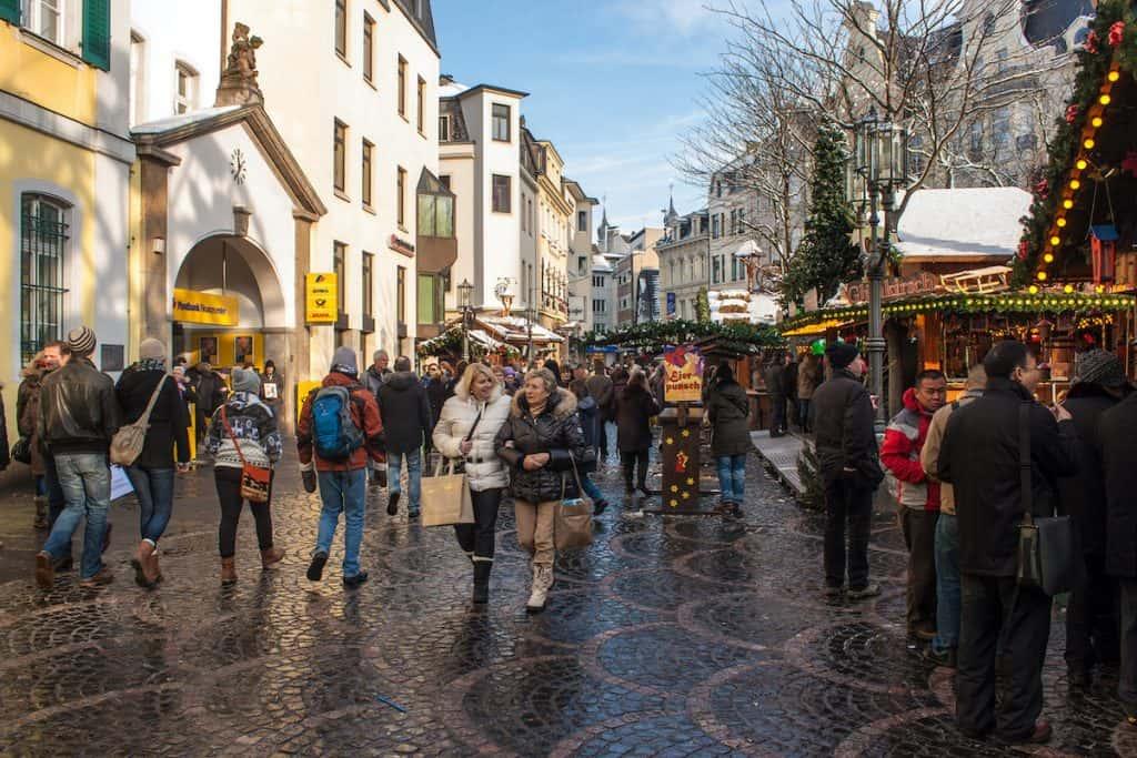 Kerstmarkt in Bonn