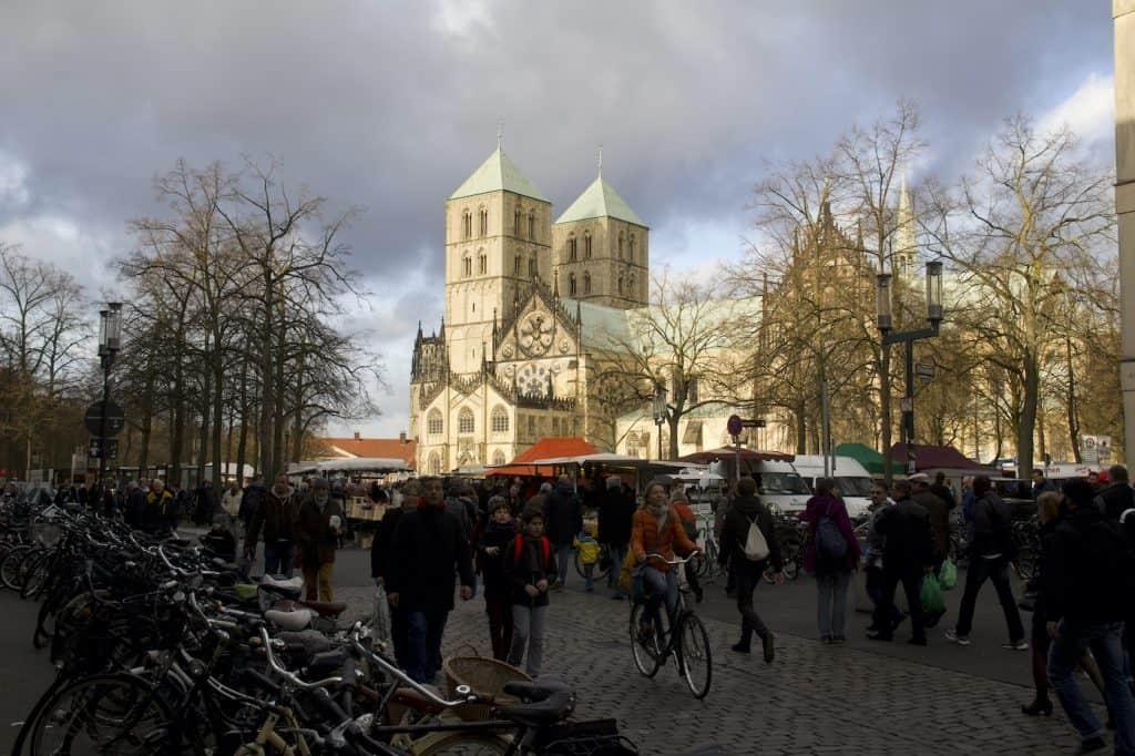 Kerstmarkt Münster Duitsland