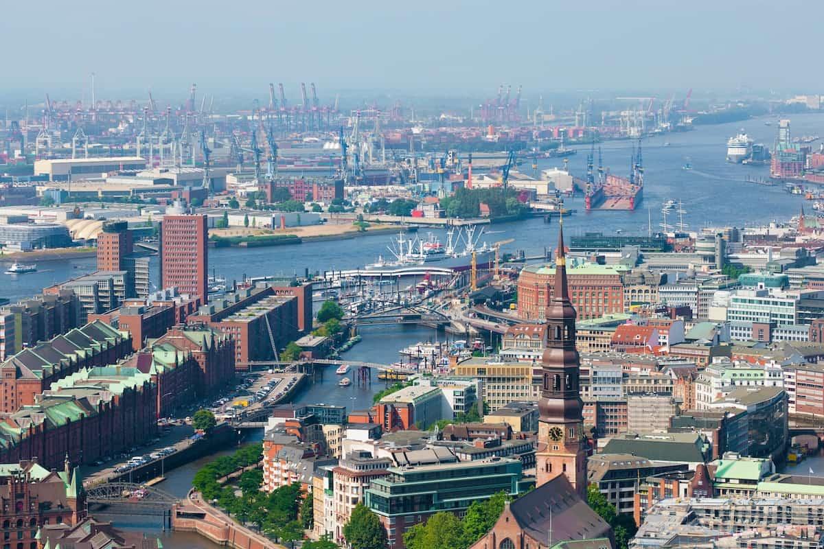 Hamburg ligging
