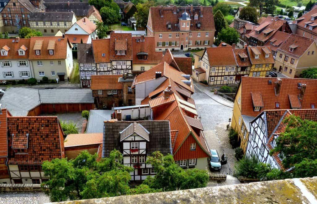 Queldlinburg binnenstad