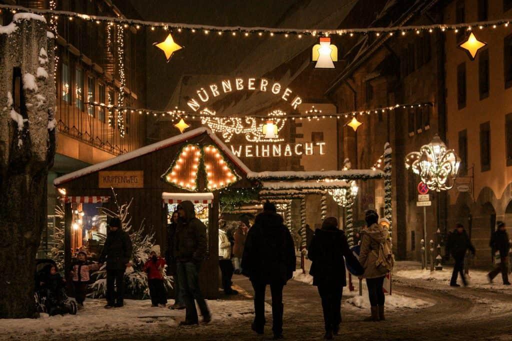 Kerstmarkten Nurnberg