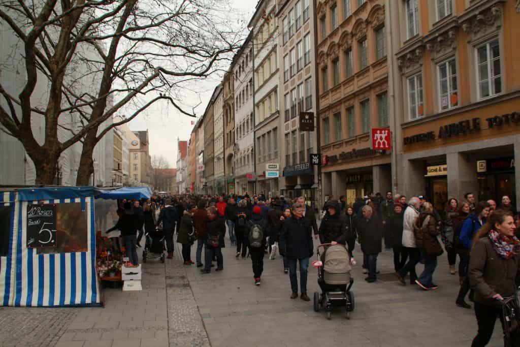 Winkelen in Munchen