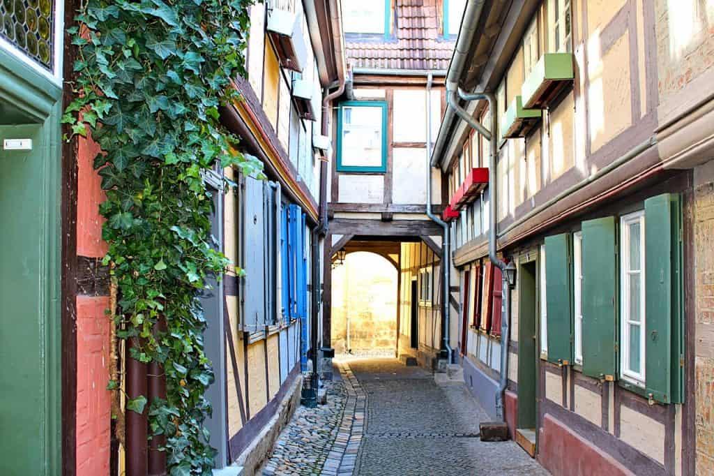 Queldlinburg vakwerk huis