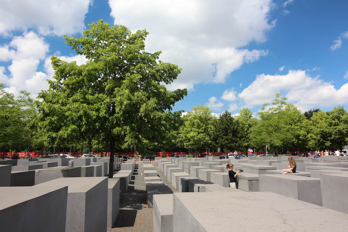 Berlijn Holocaust denkmal