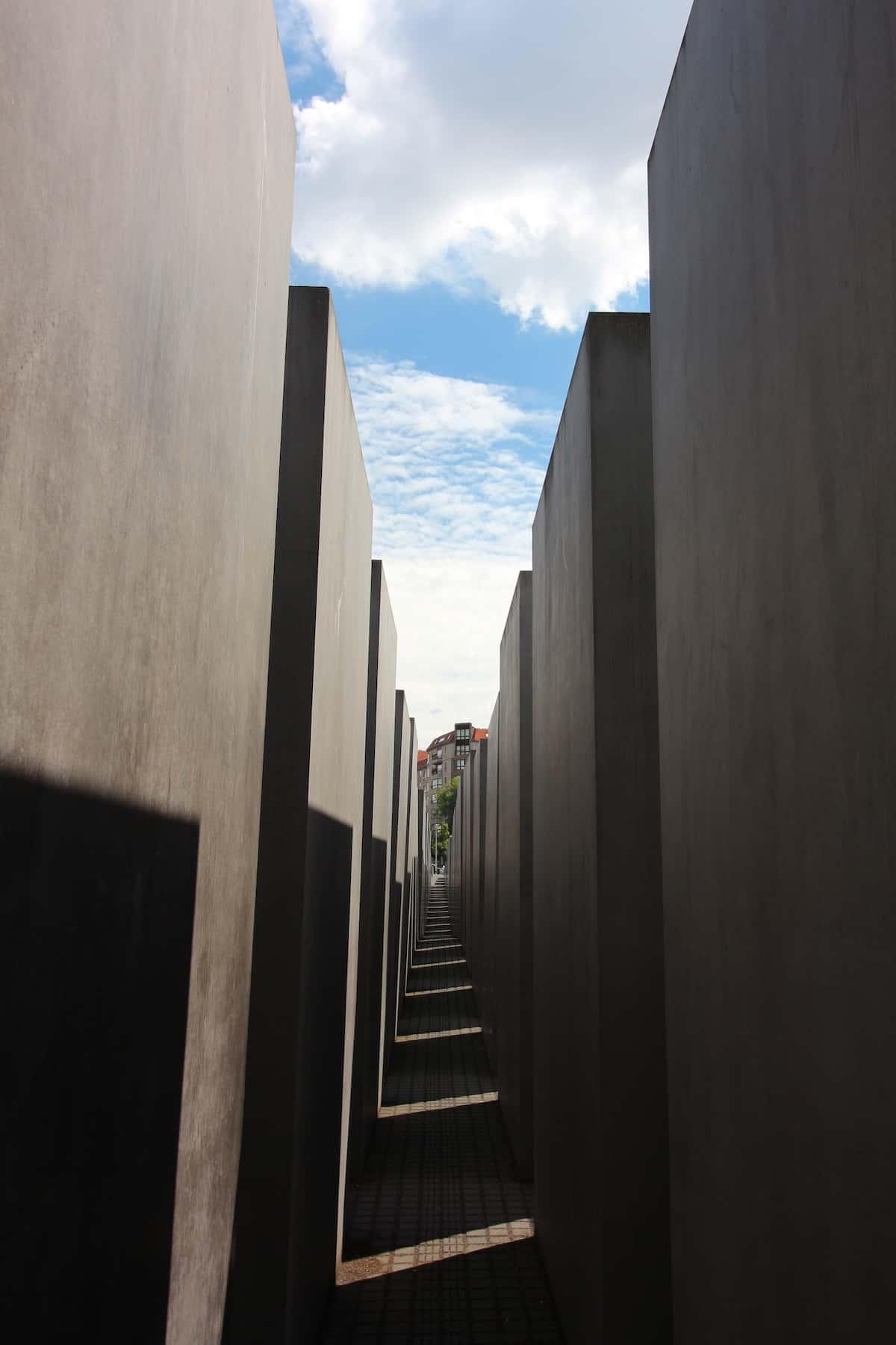Indrukwekkend holocaust monument