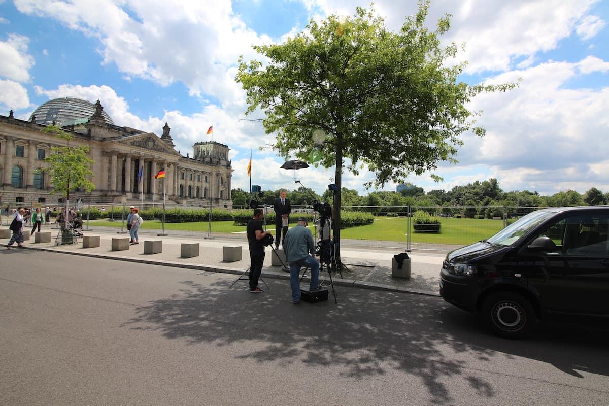 Berlijn Reichstag Rijksdaggebouw