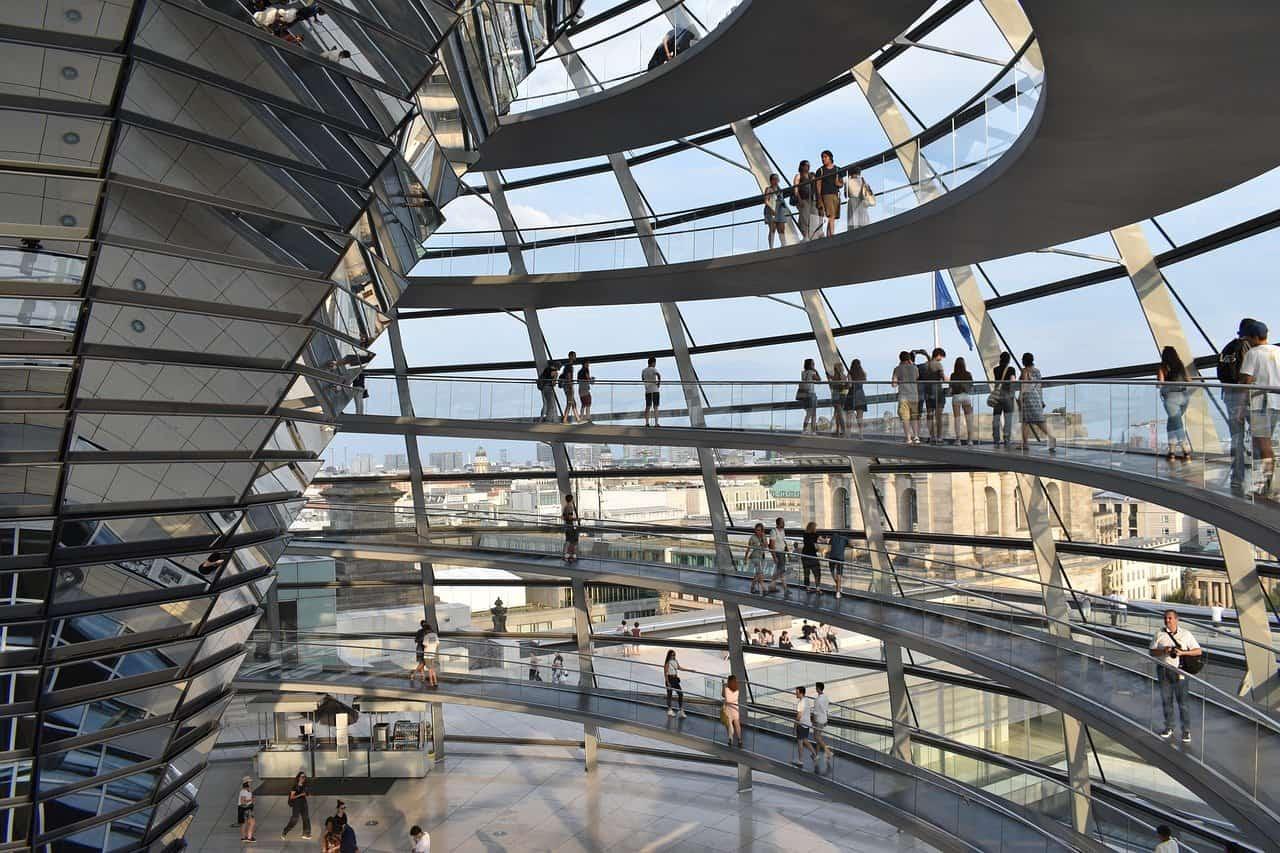 Koepel Rijksdag Berlijn Bezoeken